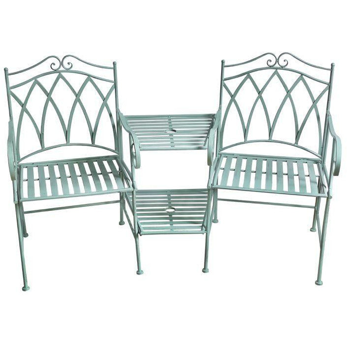 Antique Sage Companion 3 Piece Set(Chairs & Table) - Outdoor Living Essentials