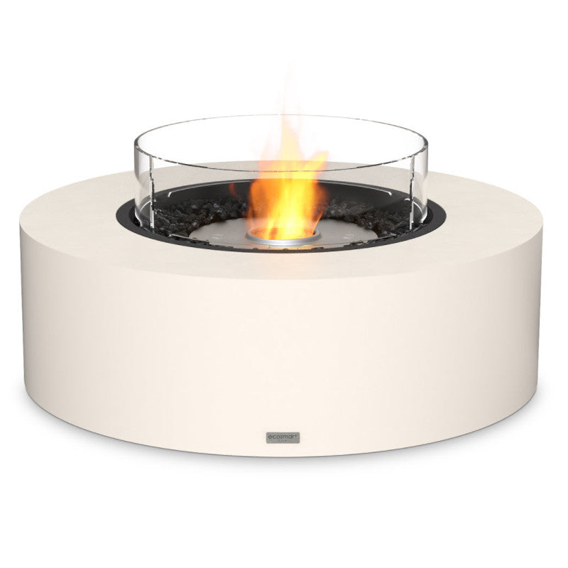 Ark 40 ethanol fire pit table bone