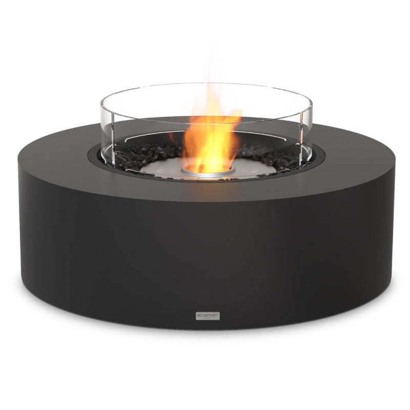 Ark 40 ethanol fire pit table graphite