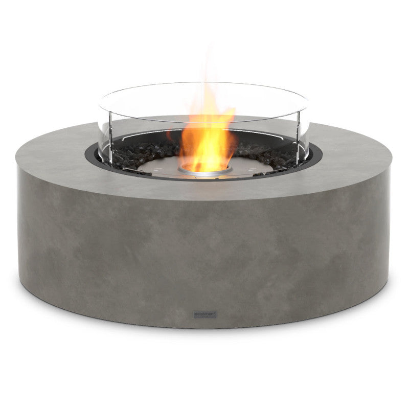 Ark 40 ethanol fire pit table natural