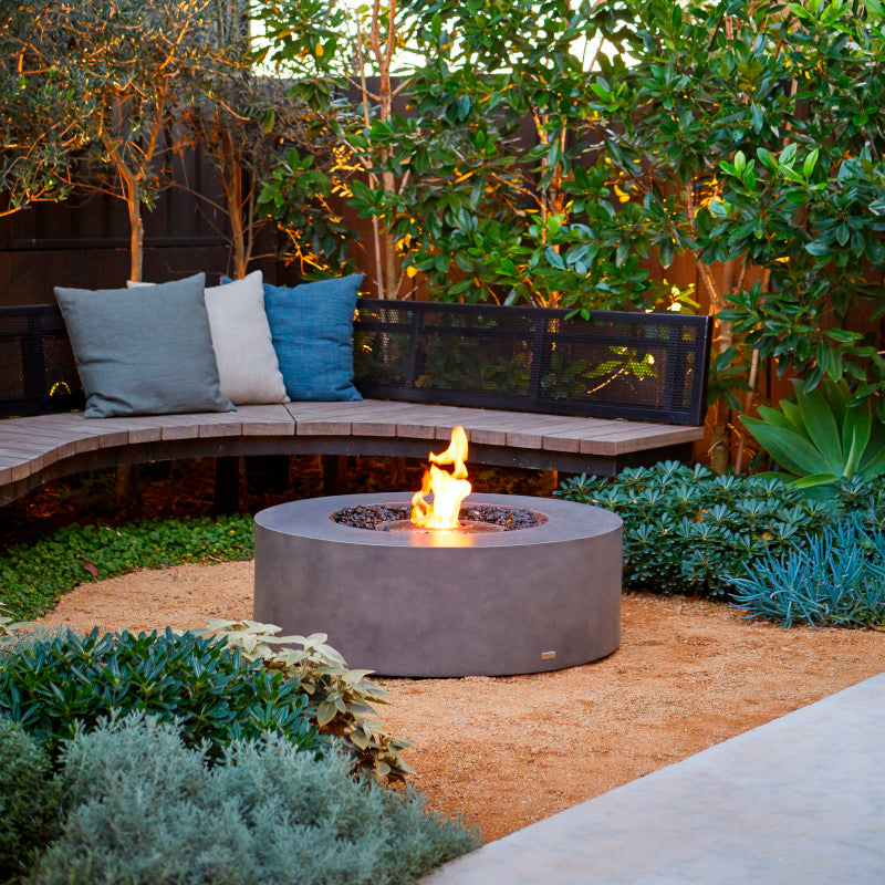 Ark 40 ethanol fire pit table bench