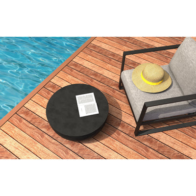 Circ L2 Concrete Coffee Table - Outdoor Living Essentials