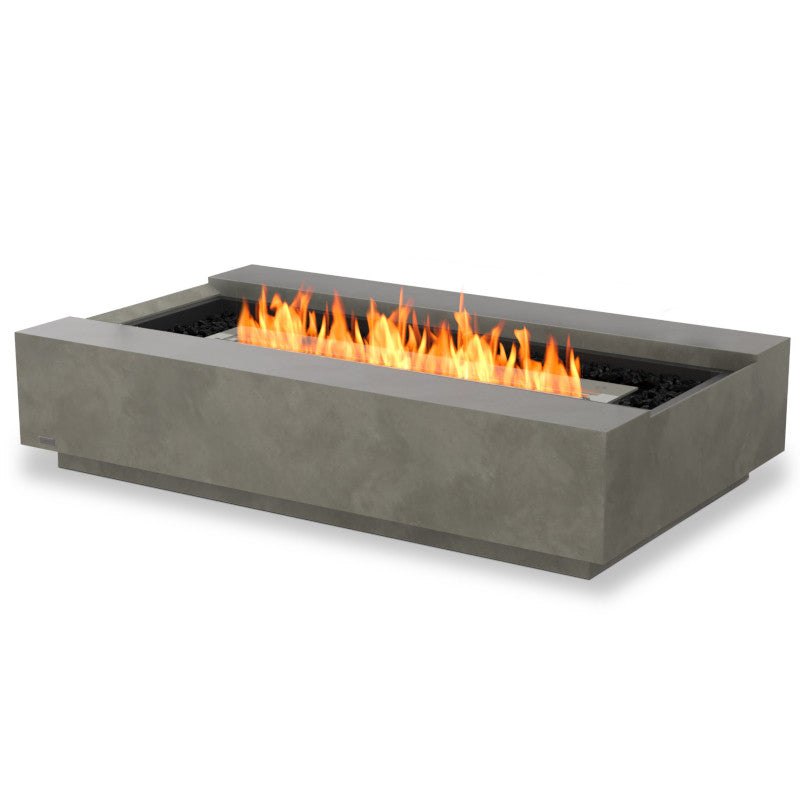 Cosmo 50 ethanol fire pit table stock