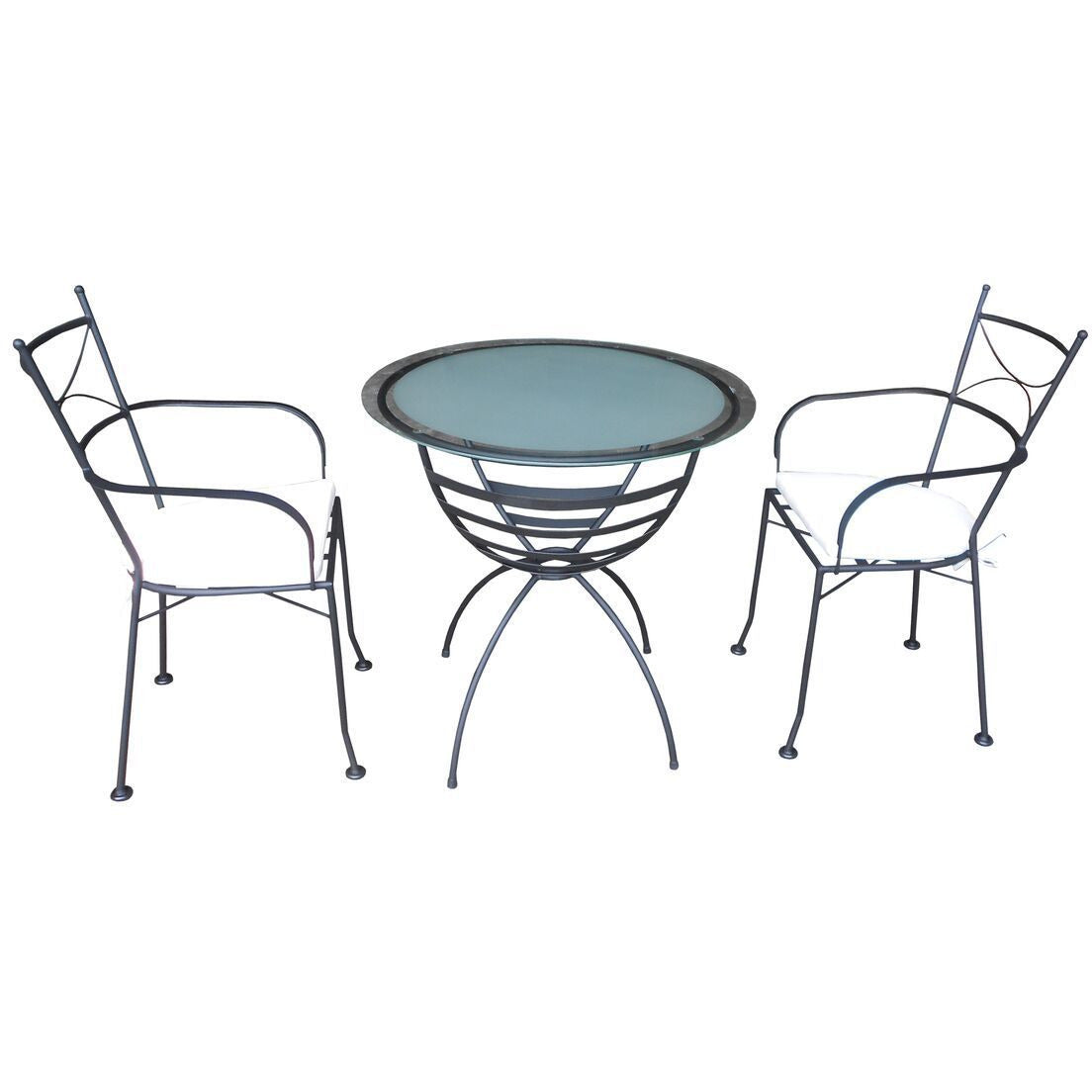 Diannaline 3 Piece Set(Chair & Table) - Outdoor Living Essentials