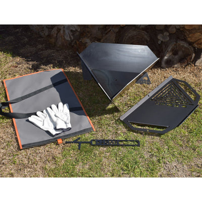 Equilateral Fire Pit™ XP Camper Kit