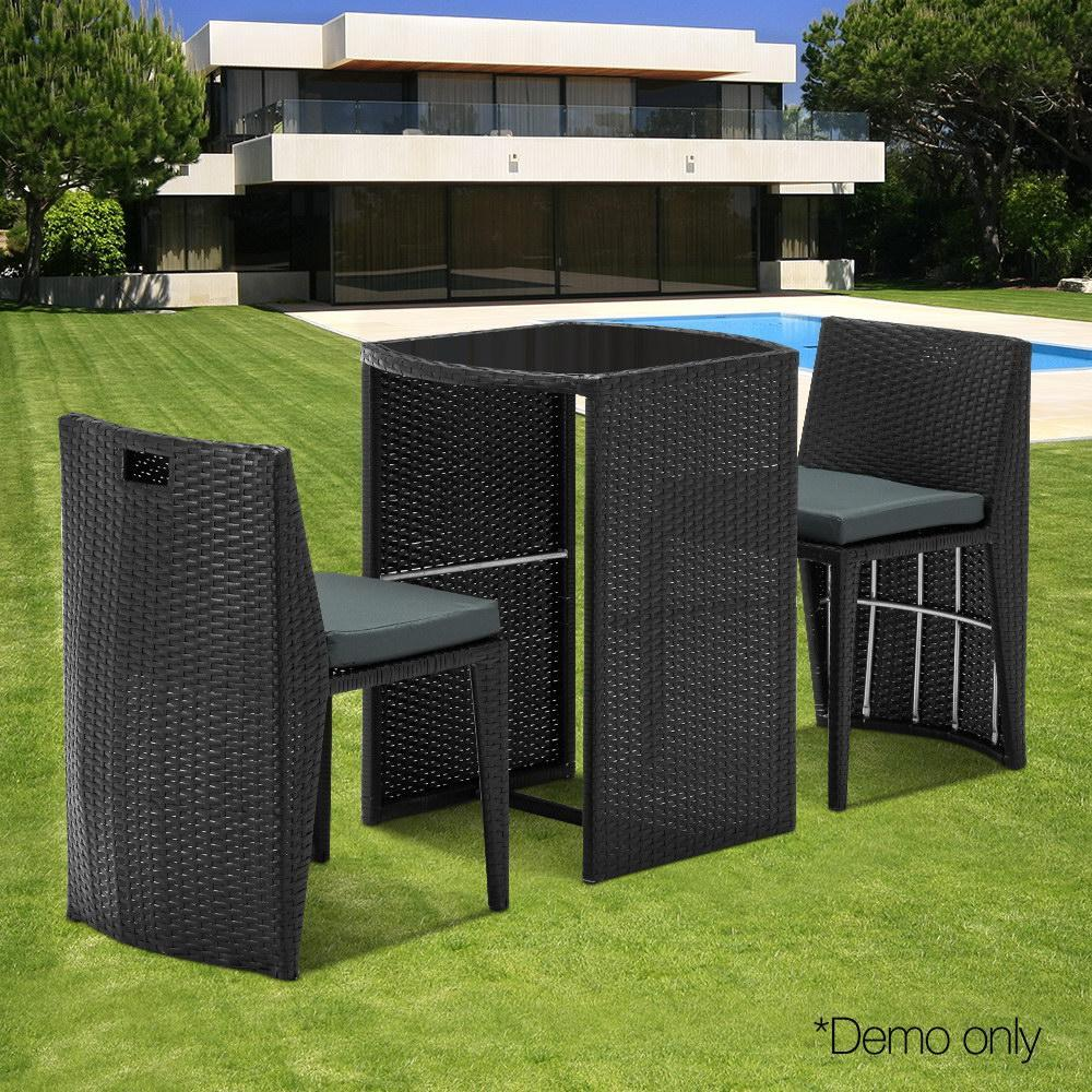 Heaton Outdoor Table and Chair Set- Outdoor Living Essentials