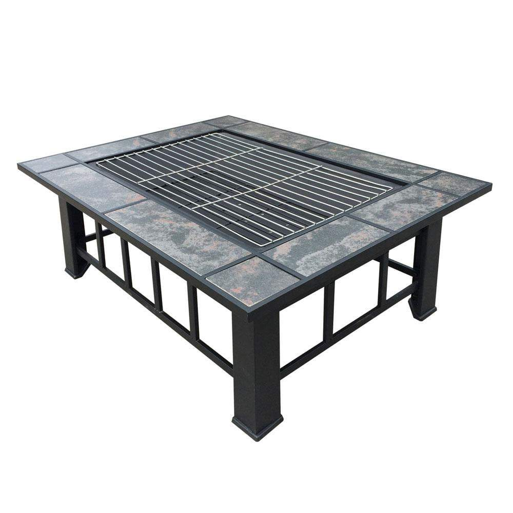Lawson Outdoor Fire Pit & BBQ - Outdoor Living Essentials
