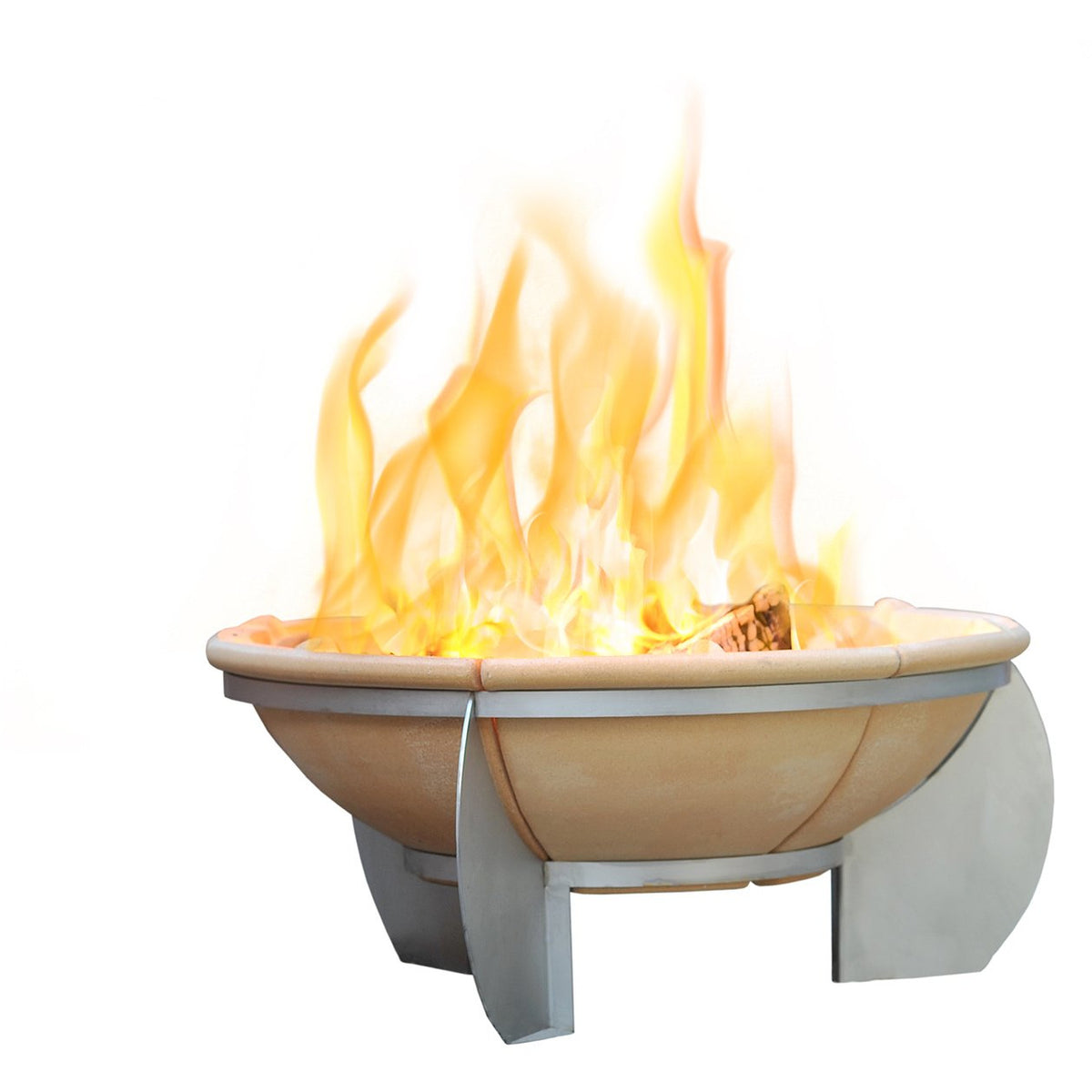Feurio Brazier Fire Pit with Free Grill - Outdoor Living Essentials