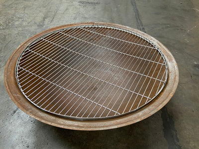 Fire Pit Cooking Grill 110cm