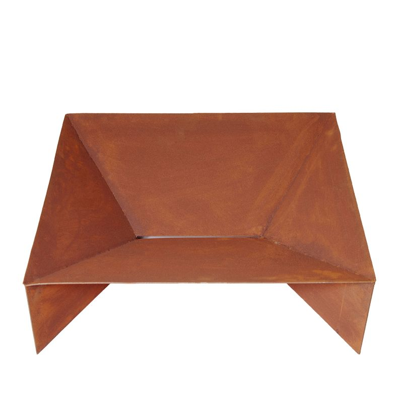 Fuji 70 cm Square fire pit & Ashtray - Outdoor Living Essentials