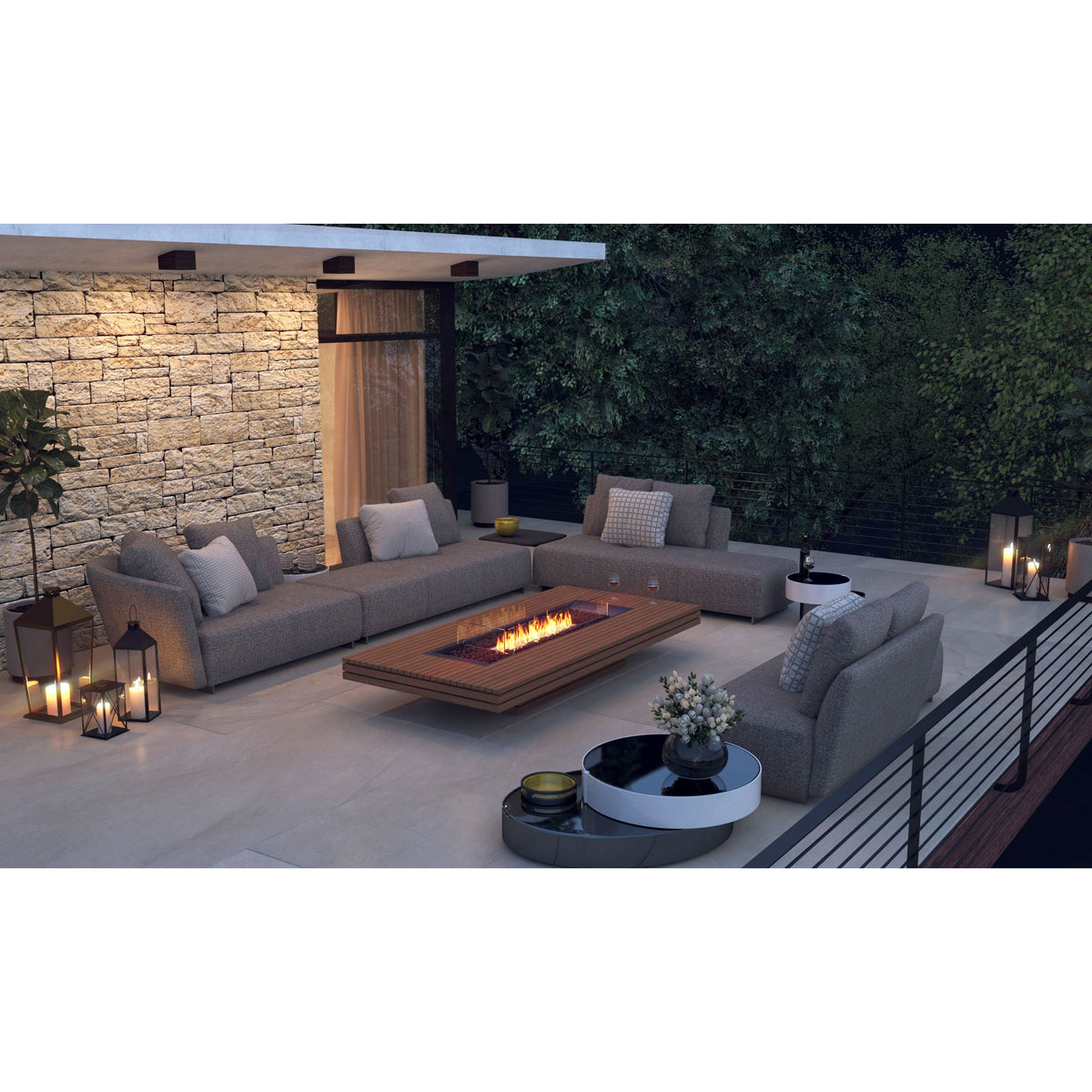 Gin 90 Low Ethanol Fire Table