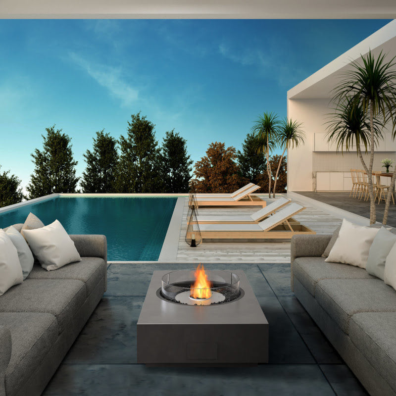 Martini 50 ethanol fire table pool