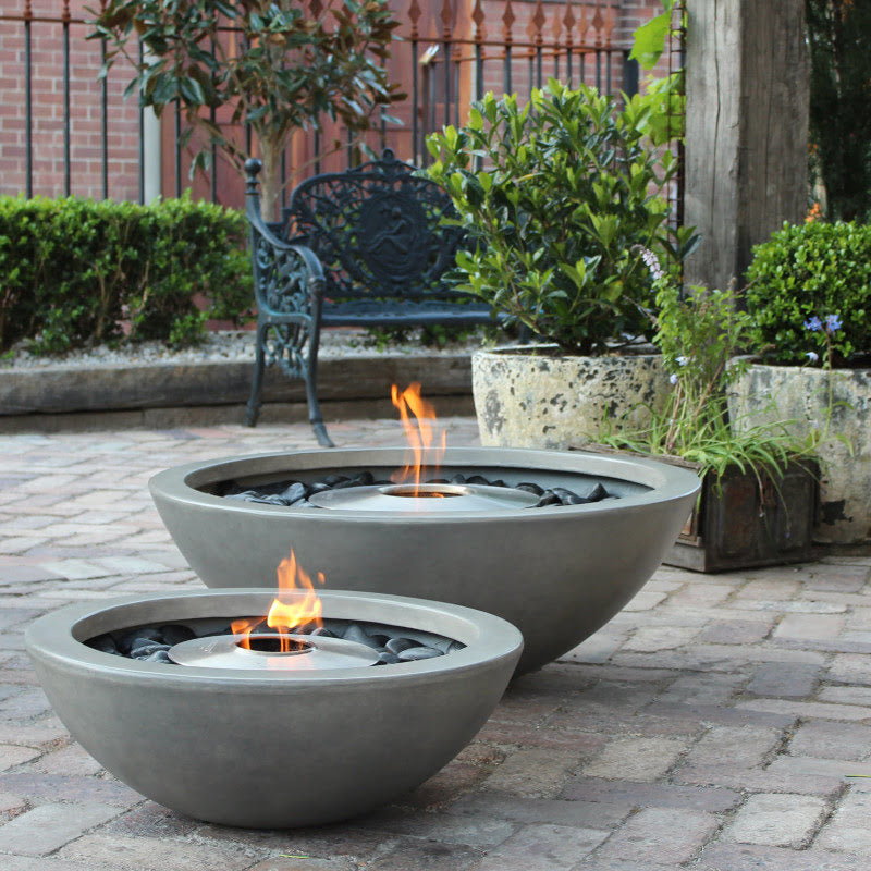 Mix 850 ethanol fire pit bowl garden