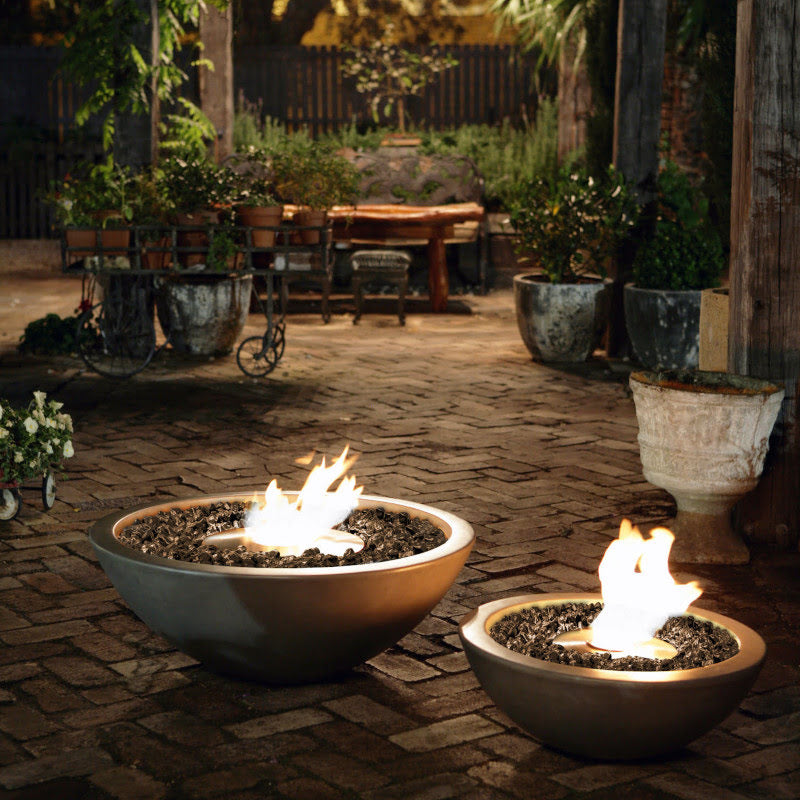 Mix 850 ethanol fire pit bowl evening