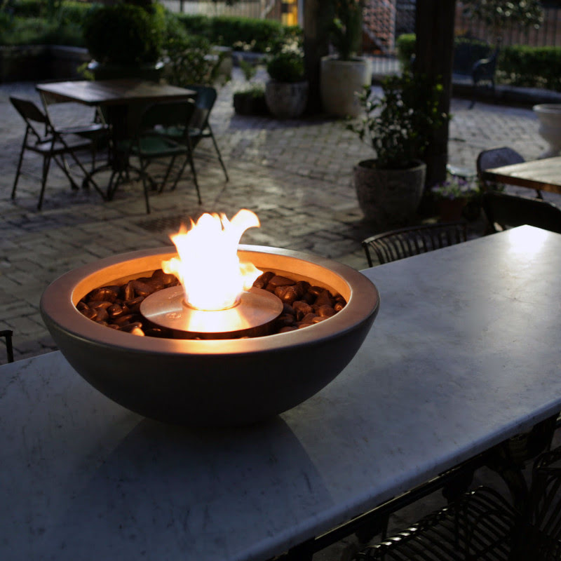 Mix 600 ethanol fire pit table top