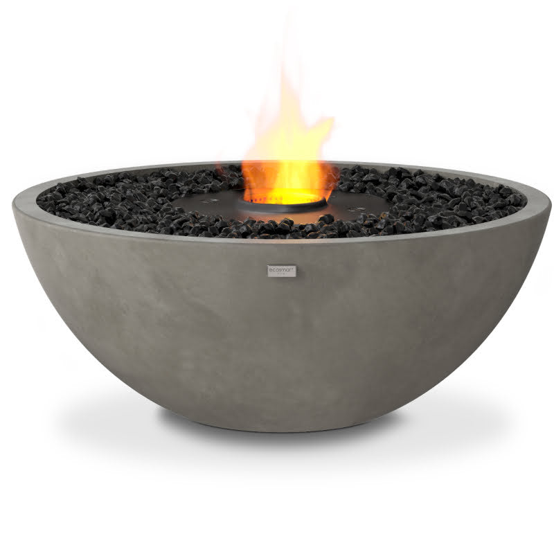 Mix 850 ethanol fire pit bowl natural black