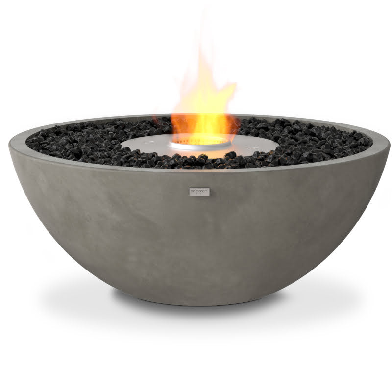 Mix 850 ethanol fire pit bowl natural