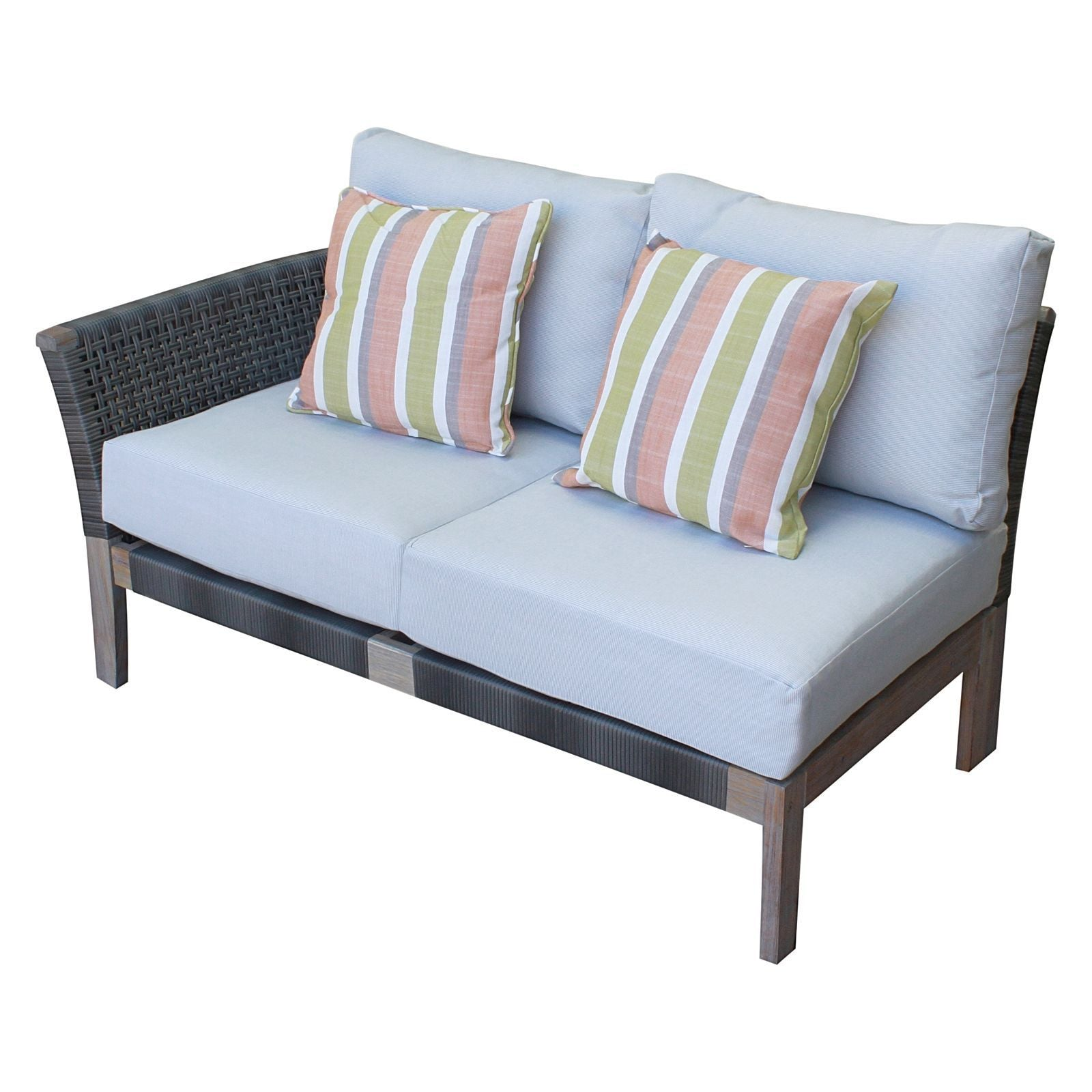 Paradise Outdoor Lounge, Right Arm - Outdoor Living Essentials