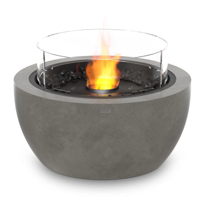Pod 30 ethanol fire pit natural black