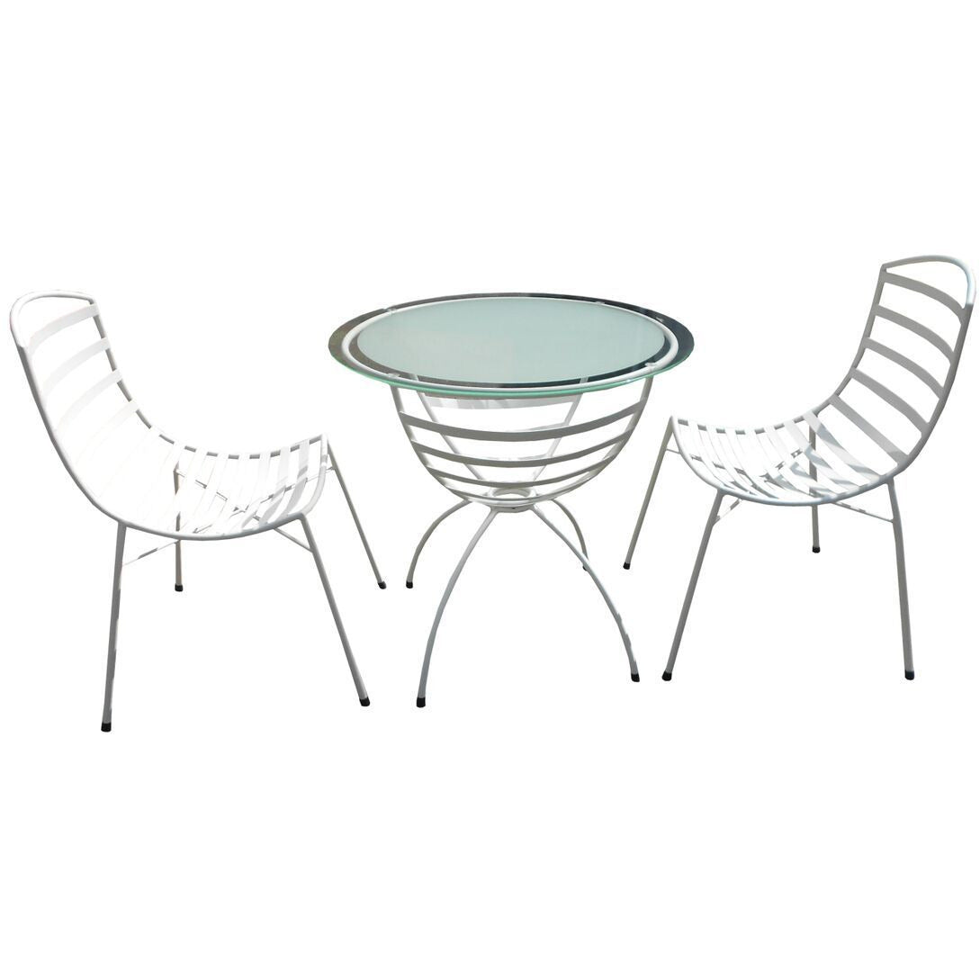 Sarahline 3 Piece Set(Chair& Table) - Outdoor Living Essentials