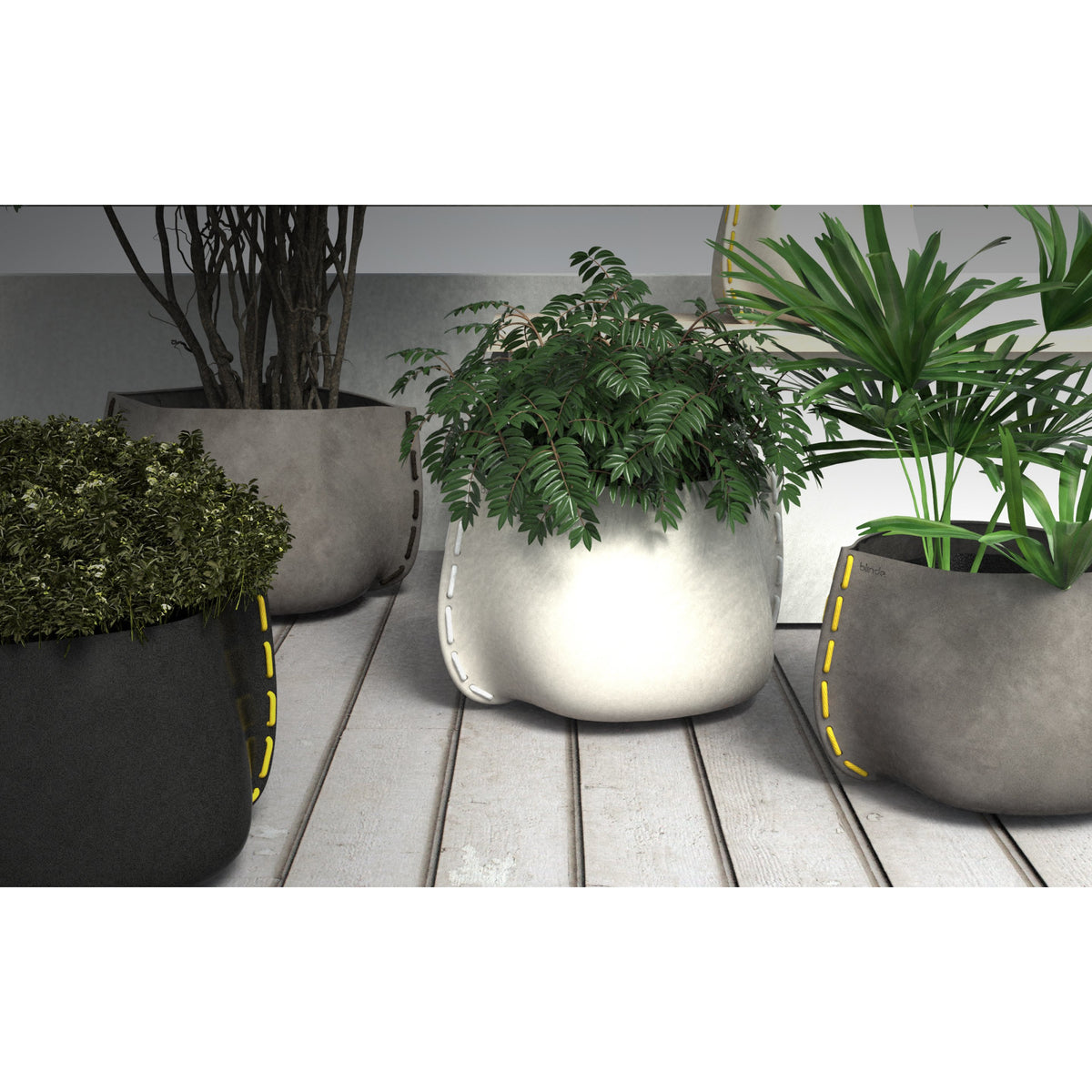 Stitch 100 Designer Pot Plant - Outdoor Living Essentials