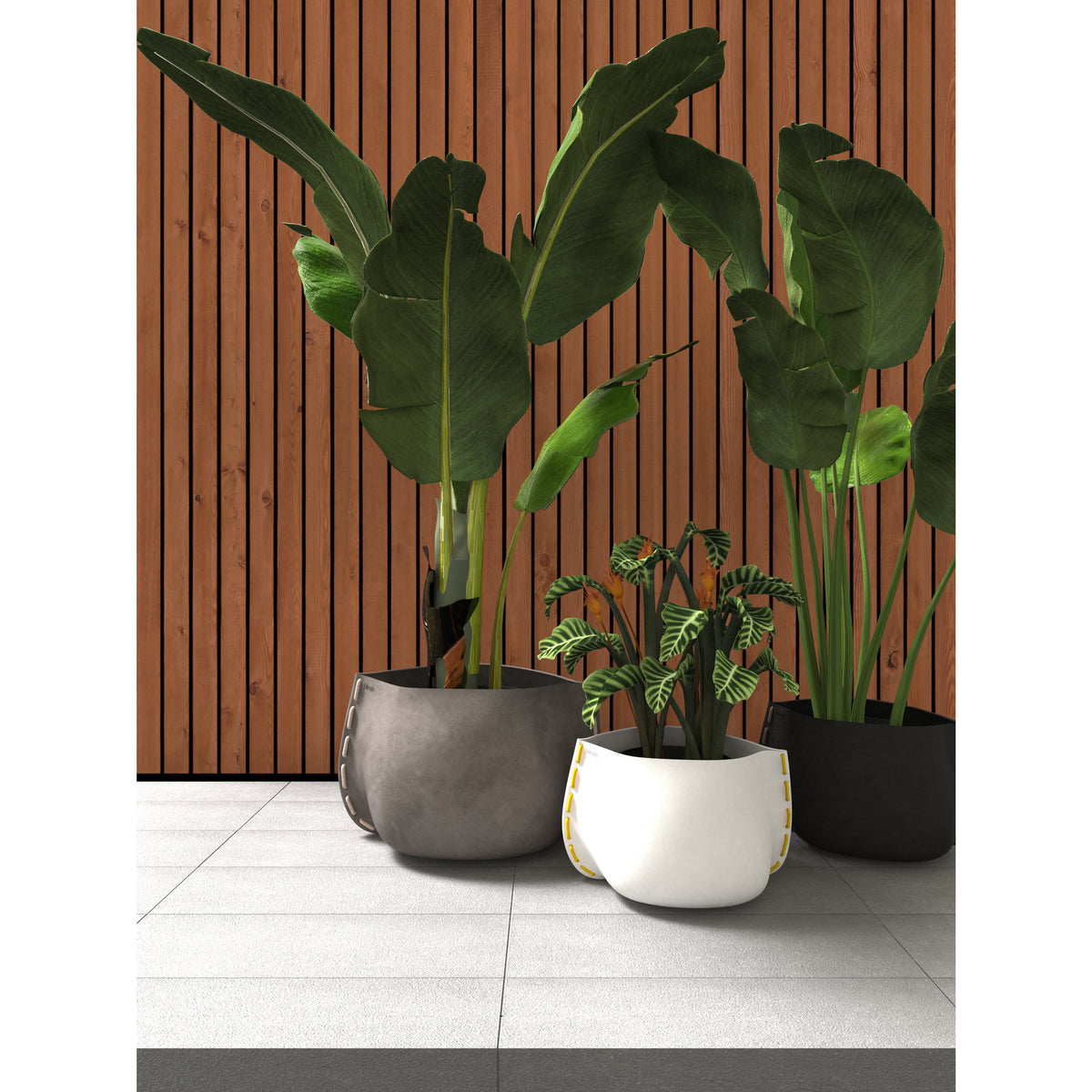 Stitch 125 Designer Pot Plant - Outdoor Living Essentials