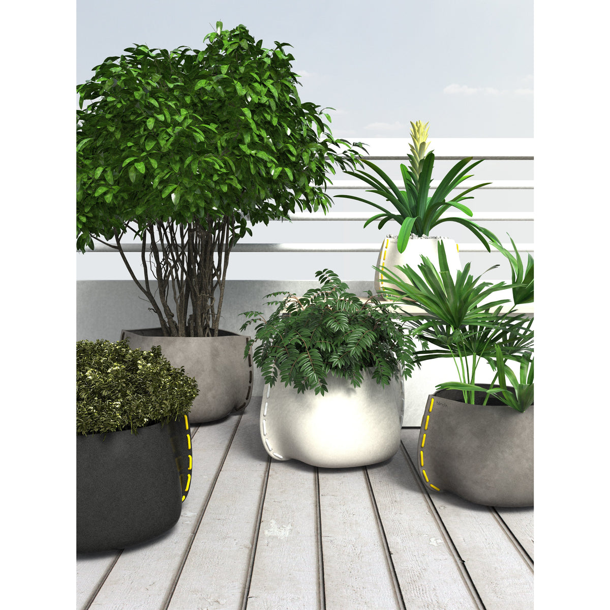 Stitch 50 Designer Pot Plant - Outdoor Living Essentials