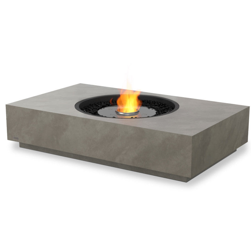 martini 50 ethanol fire pit table stock