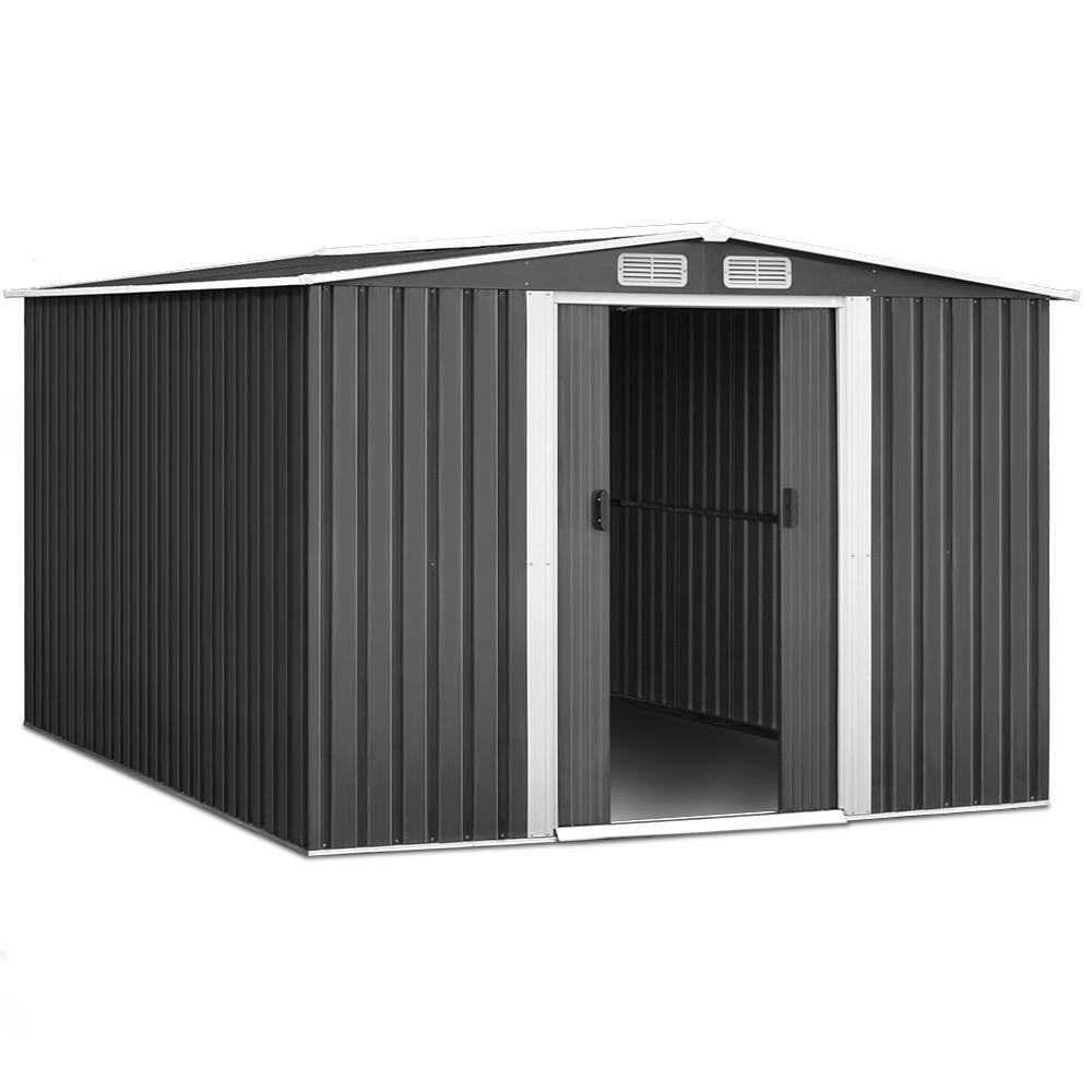 Cochran Garden Shed, 2.57 x 3.12m - Outdoor Living Essentials