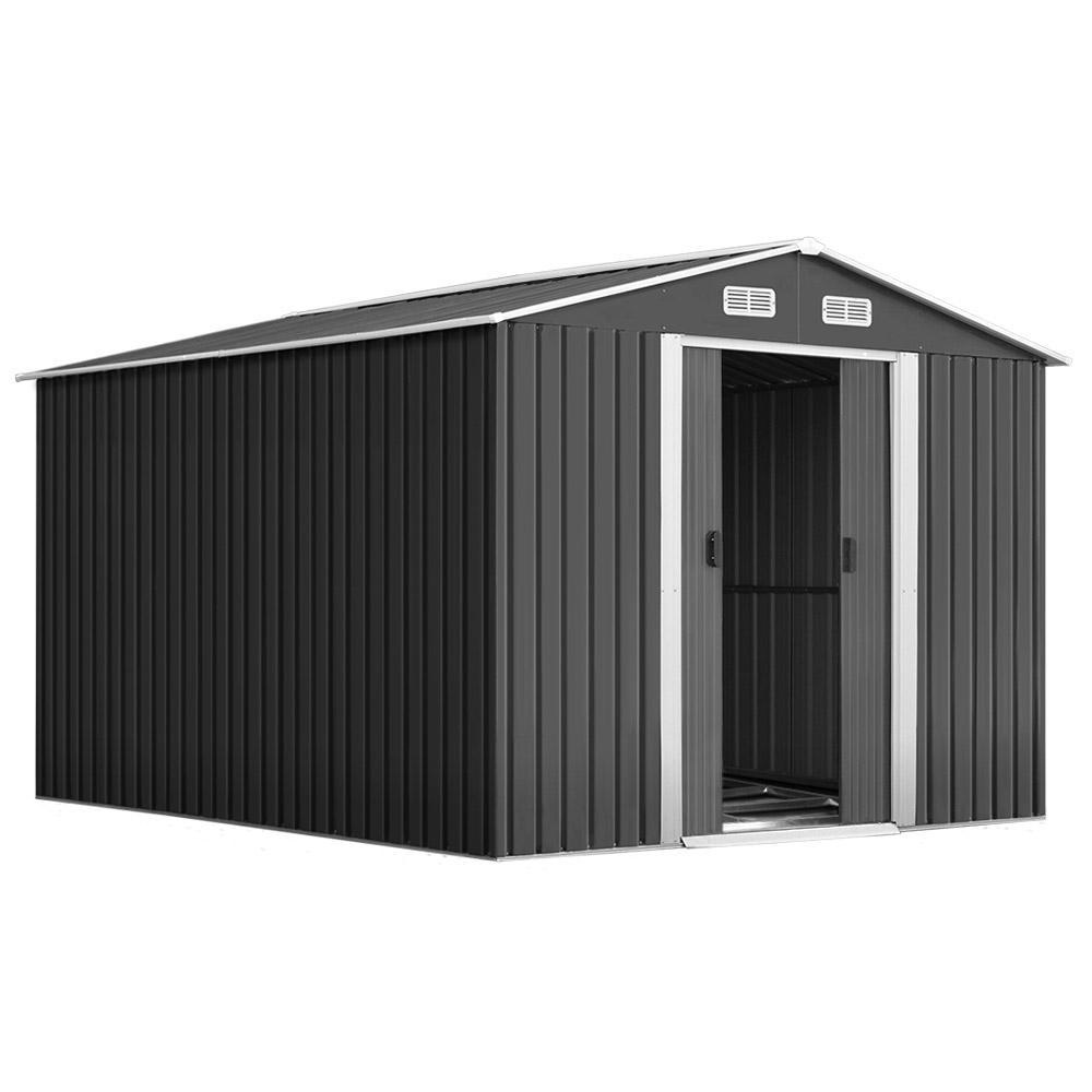 Cochran Garden Shed,  2.02 x 3.89m - Outdoor Living Essentials