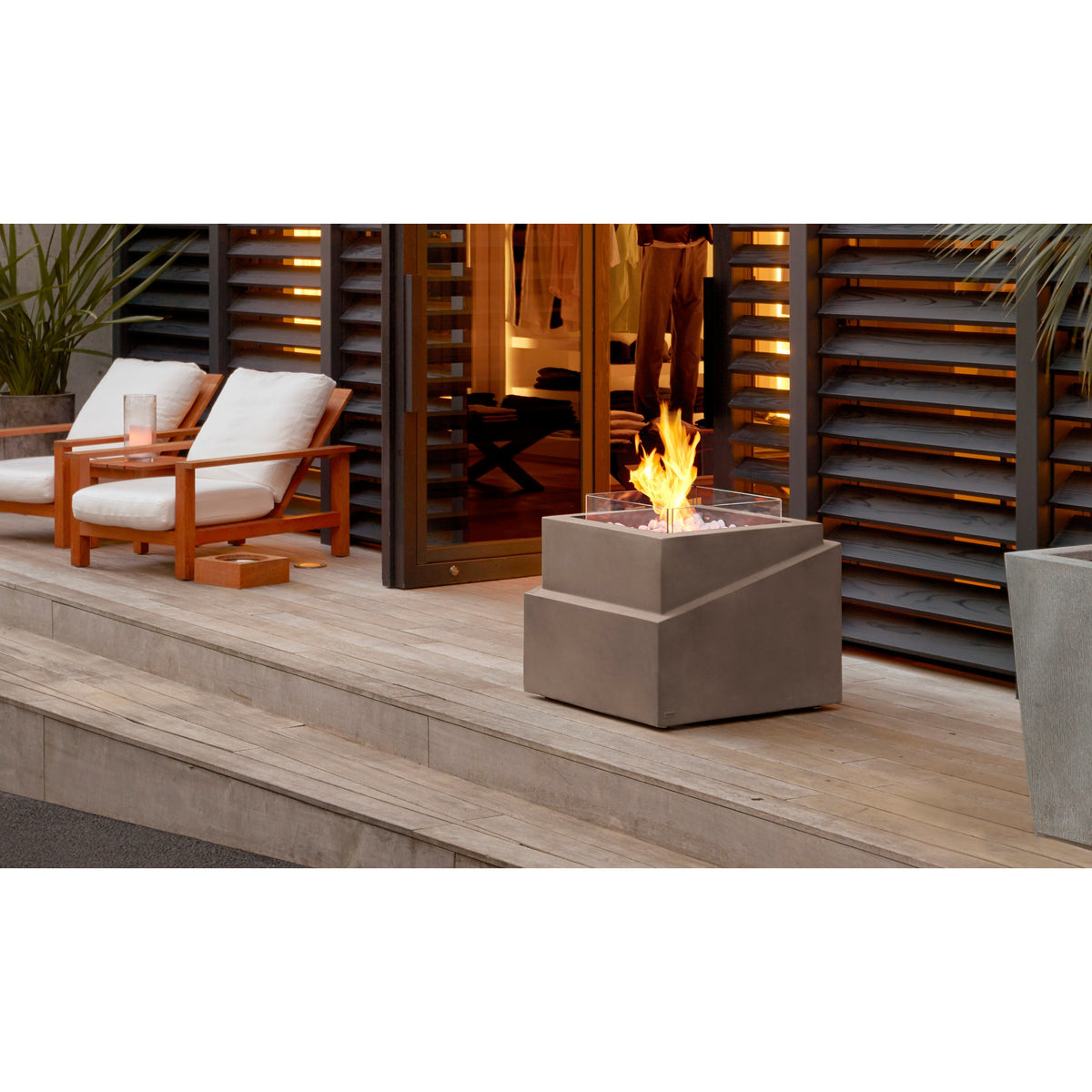 Step Ethanol Fireplace