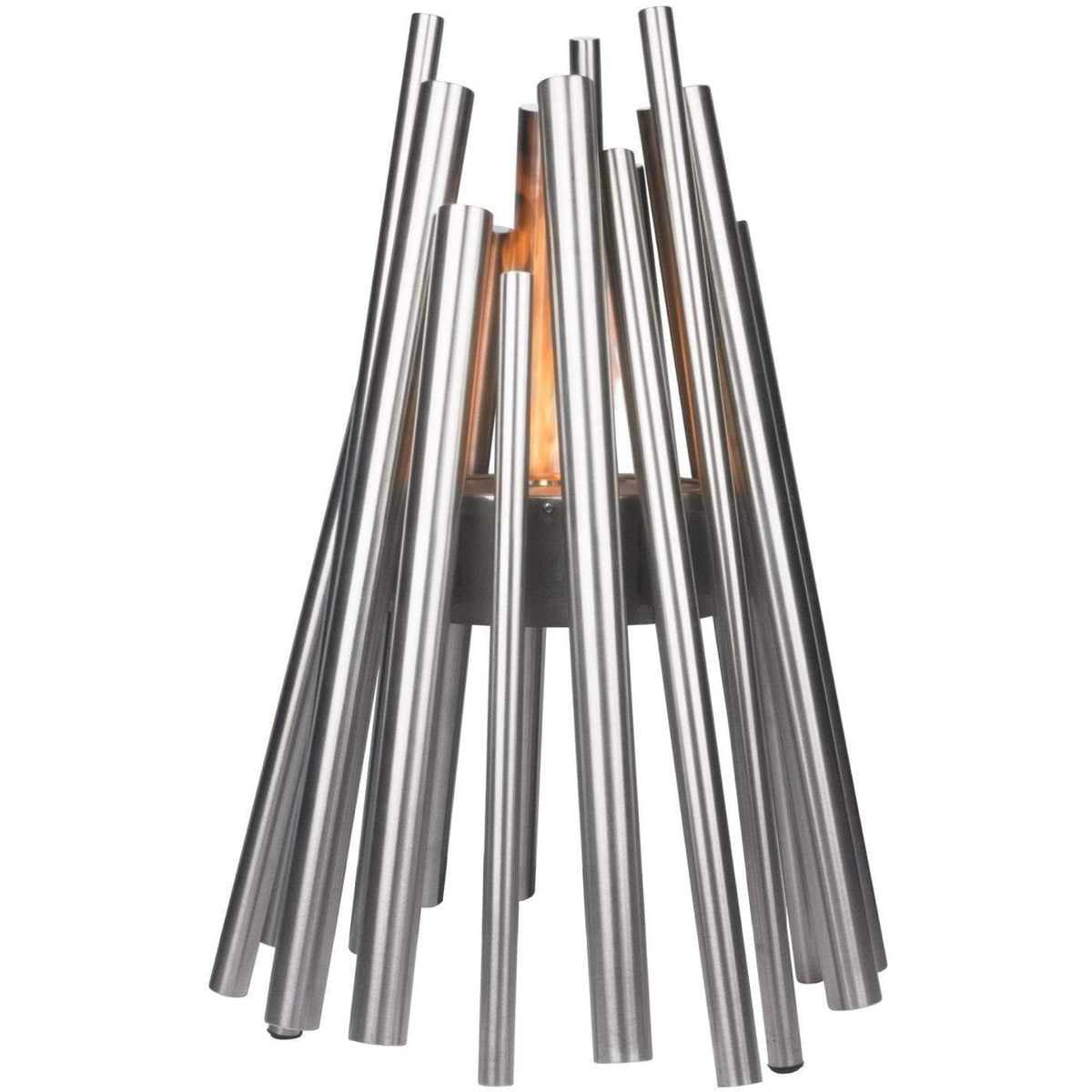 Stix Ethanol Fire Pit, Stainless Steel - Outdoor Living Essentials