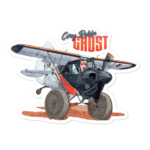 Sticker Cory Robin & Ghost Cub Tooned Up