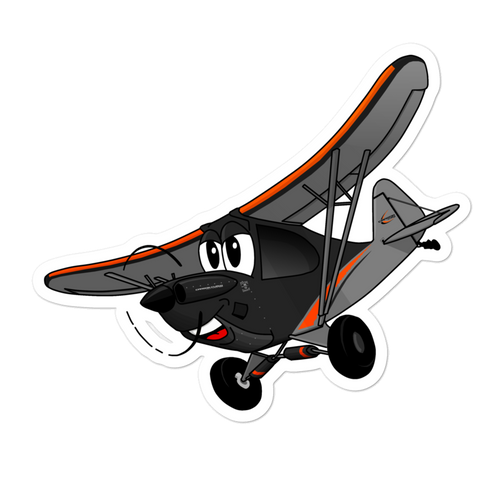 Sticker Ghost Cub Tooned Up