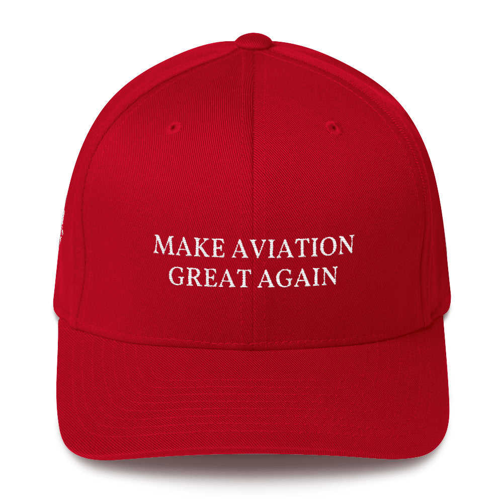 Make Aviation GREAT Again MAGA Flexfit hat