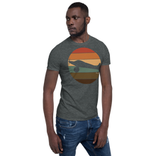 Load image into Gallery viewer, Retro Sunset Ghost Bush Plane Short-Sleeve Unisex T-Shirt