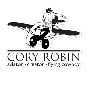Sticker Cory Robin YouTube Channel Logo