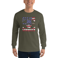 Load image into Gallery viewer, Flying Cowboys Patriot Long Sleeve T-Shirt