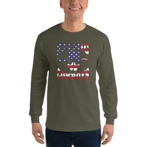 Flying Cowboys Patriot Long Sleeve T-Shirt