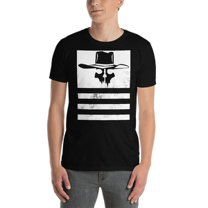 Flying Cowboys Stripes Distressed Tee