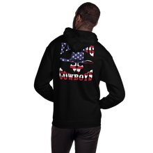 Load image into Gallery viewer, Flying Cowboys Patriot Hooded Sweatshirt