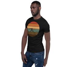 Load image into Gallery viewer, Retro Sunset Supercub Frontal Short-Sleeve Unisex T-Shirt