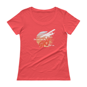 You Can't Take the Sky From Me - Ladies' Scoopneck T-Shirt
