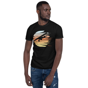 Sunset Ghost Cub Reverse Short-Sleeve Unisex T-Shirt