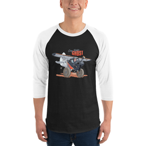 "Cory's ""Ghost"" 3/4 sleeve raglan shirt"