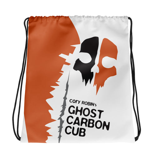 Cory's Ghost Cub Drawstring bag