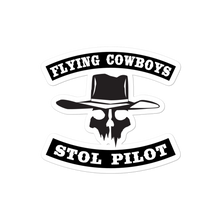 Load image into Gallery viewer, Sticker Flying Cowboys STOL Pilot