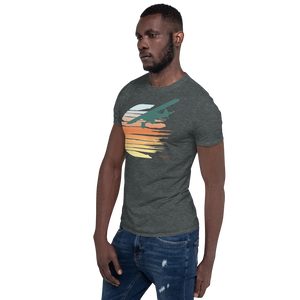 Ghost Cub Sunset Short-Sleeve Unisex T-Shirt