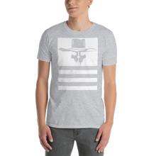 Load image into Gallery viewer, Flying Cowboys Stripes Distressed Tee