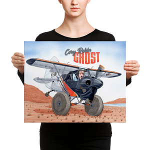 "Cory's ""Ghost"" Canvas Print"